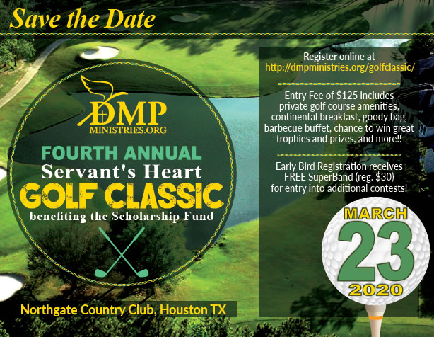 Save The Date - DMP Fourth Annual Golf Classic